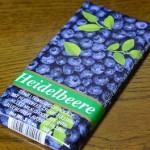 ワインリッヒチョコレート ブルーベリー味レビュー