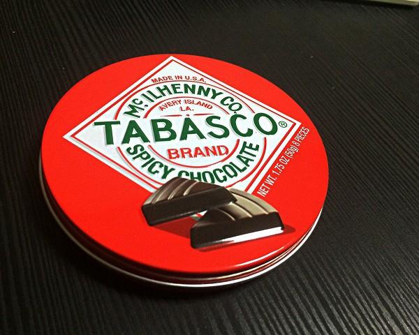 チョコレートの可能性 「タバスコ スパイシーダークチョコ」