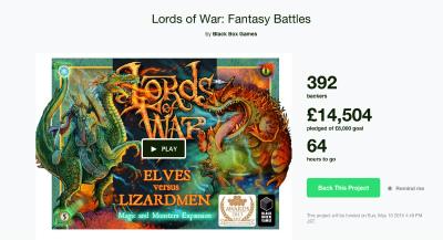 最近蹴ったもの:2人対戦カードゲーム「Lords of War」