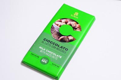豊かなナッツの味わいと上品な甘さ「イカム ヘーゼルナッツチョコレート」