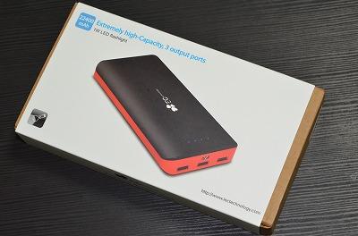モバイルバッテリー「EC Technology 22400mAh」がコスパがよくて気に入った