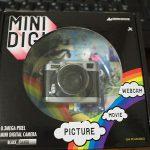 MINIDIGI GH-TCAM30C デジタルトイカメラレビュー