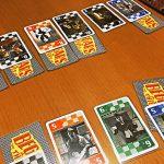 未公開札で一喜一憂2人用トリックテイキングゲーム「泥棒と乞食」